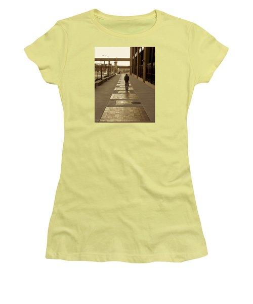 Cardinals' Walk Of Fame Women's T-Shirt (Junior Cut) by Jane Eleanor Nicholas