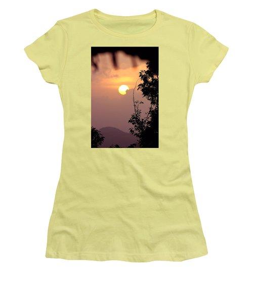 Caribbean Summer Solstice  Women's T-Shirt (Junior Cut) by The Art of Alice Terrill