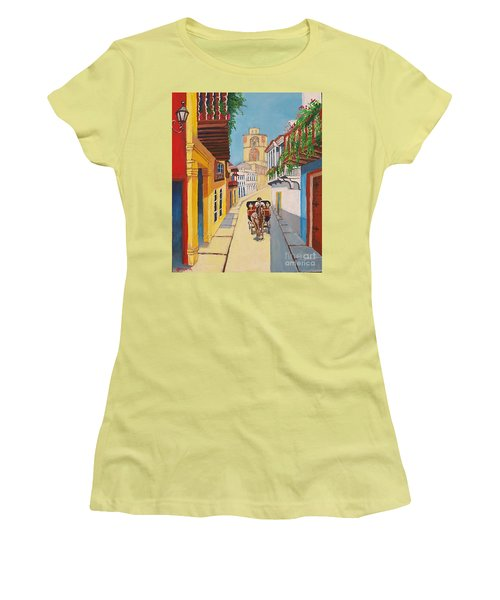 Cartagena's Calash Women's T-Shirt (Athletic Fit)