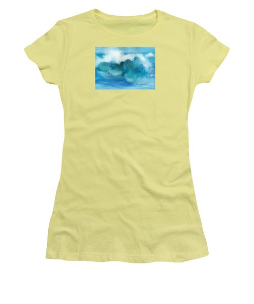 Catch The Wave Women's T-Shirt (Junior Cut) by Joan Hartenstein