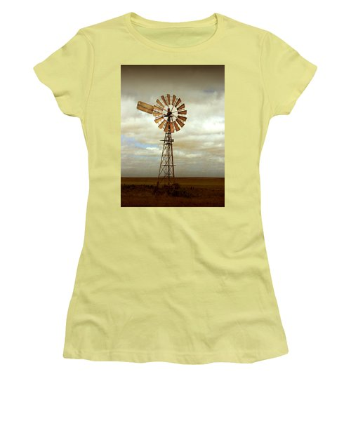 Catch The Wind Women's T-Shirt (Junior Cut) by Holly Kempe