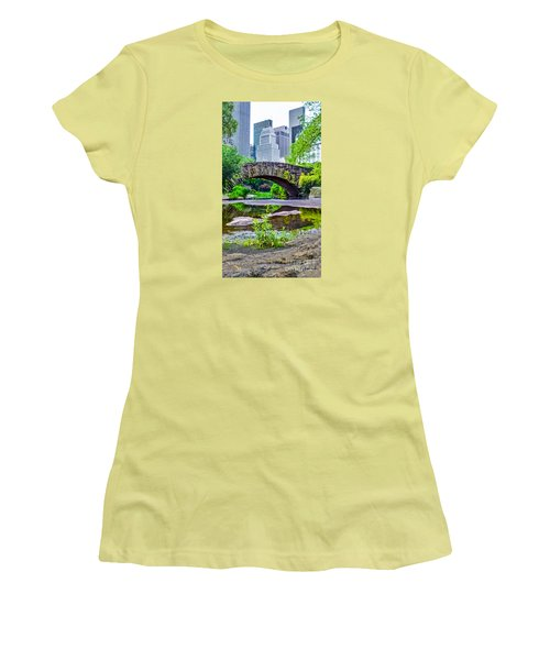 Central Park Nature Oasis Women's T-Shirt (Athletic Fit)