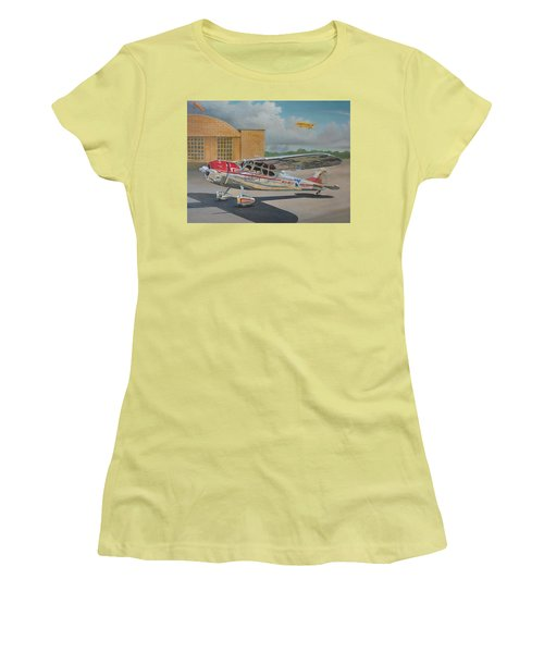 Cessna 195 Women's T-Shirt (Athletic Fit)