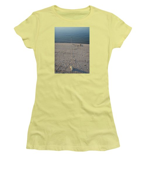 Women's T-Shirt (Junior Cut) featuring the photograph Champagne Chillin by Robert Nickologianis