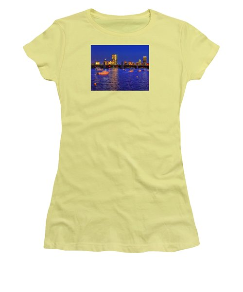 Charles River Basin 013 Women's T-Shirt (Athletic Fit)