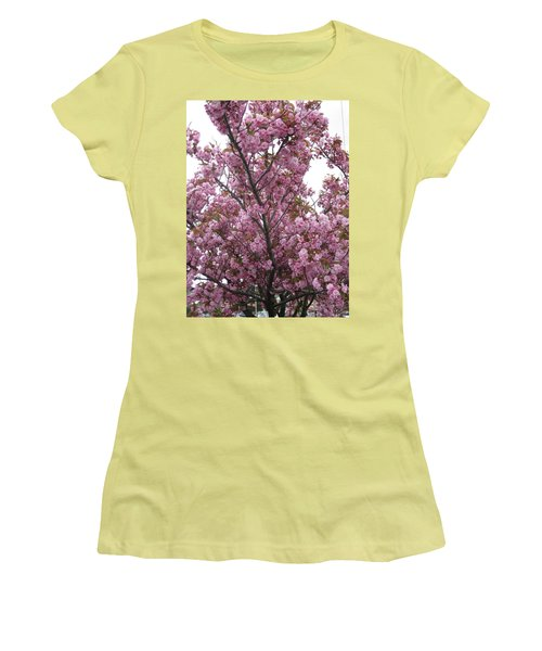 Cherry Blossoms 2 Women's T-Shirt (Athletic Fit)