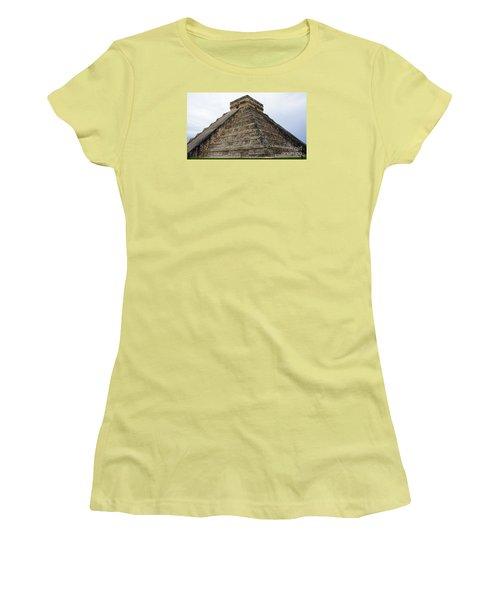 Chichen Itza Ruins 21 Women's T-Shirt (Athletic Fit)
