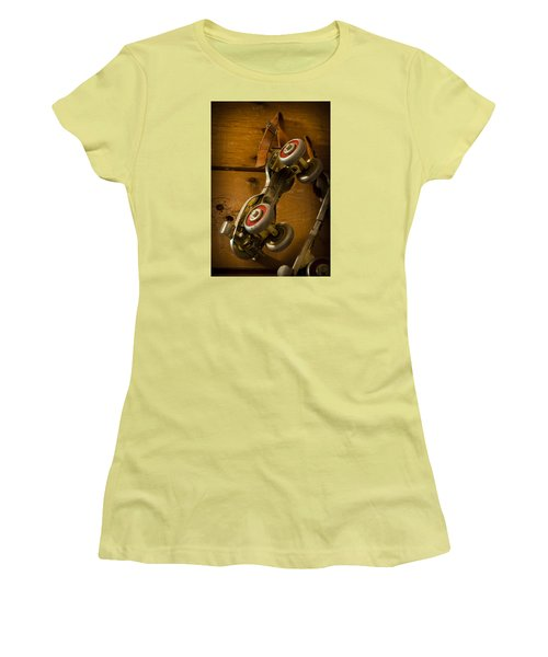 Childhood Moments Women's T-Shirt (Junior Cut) by Fran Riley