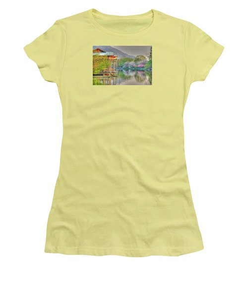 China Lake House Women's T-Shirt (Athletic Fit)