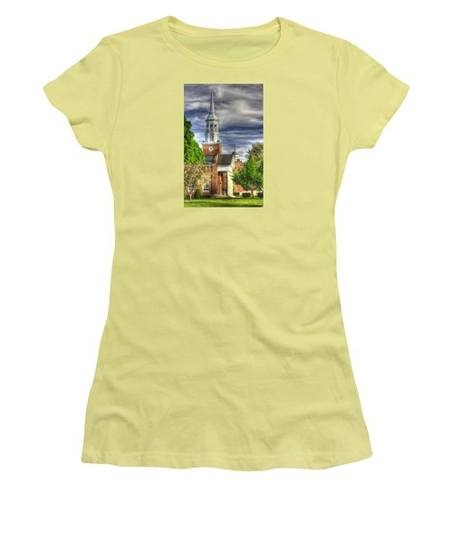 Church Of The Abiding Presence 1a - Lutheran Theological Seminary At Gettysburg Spring Women's T-Shirt (Athletic Fit)