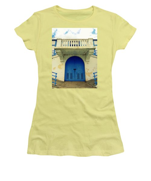 City Island Bath House Women's T-Shirt (Athletic Fit)