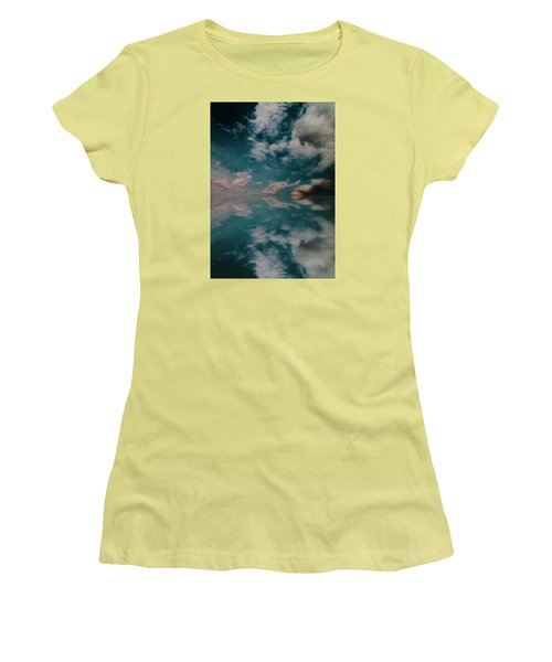 Cloud Reflections Women's T-Shirt (Junior Cut) by John Stuart Webbstock