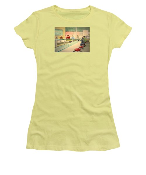 Coffee And Doughnuts Women's T-Shirt (Junior Cut) by Stacy C Bottoms