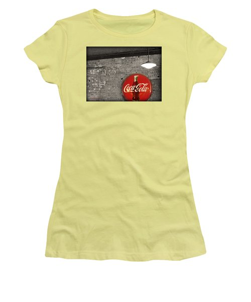 Coke Cola Sign Women's T-Shirt (Junior Cut) by Paulette B Wright