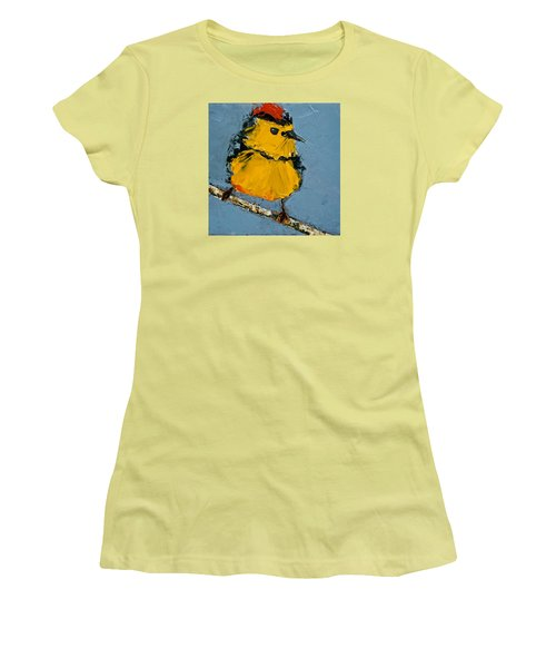 Collard Redstart Women's T-Shirt (Athletic Fit)