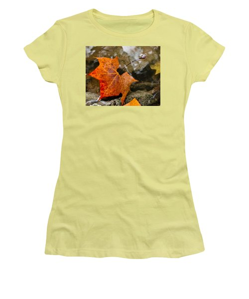 Coming Up For Air Women's T-Shirt (Athletic Fit)