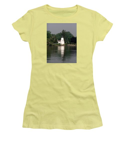 Concord Point Lighthouse Women's T-Shirt (Athletic Fit)