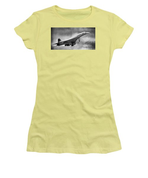 Concorde Supersonic Transport S S T Women's T-Shirt (Athletic Fit)