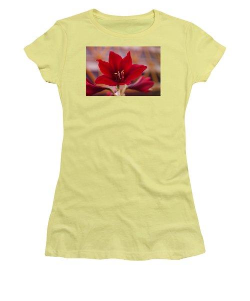 Content Tropics Women's T-Shirt (Junior Cut) by Miguel Winterpacht