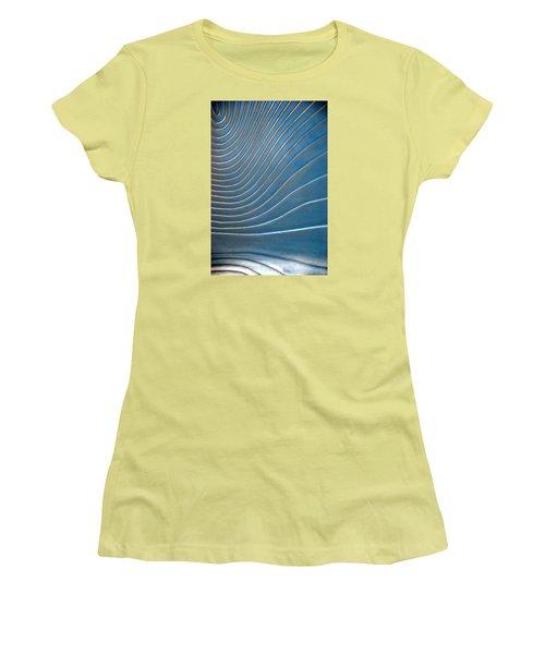Contours 1 Women's T-Shirt (Athletic Fit)
