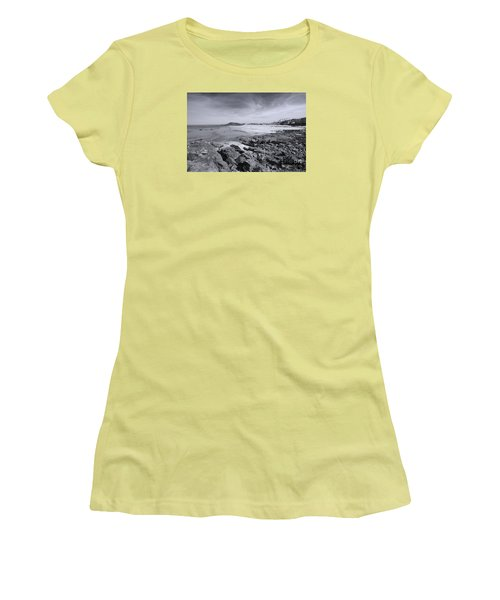 Cornwall Coastline 2 Women's T-Shirt (Junior Cut) by Doug Wilton