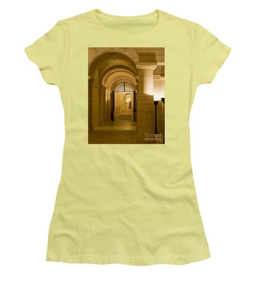 Corridors Women's T-Shirt (Junior Cut) by Victoria Harrington