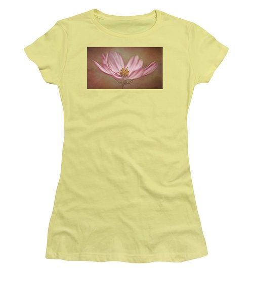 Women's T-Shirt (Junior Cut) featuring the photograph Cosmos by Ann Lauwers
