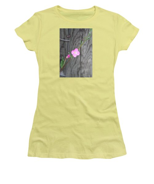 Country Flower  Women's T-Shirt (Junior Cut) by Amy Gallagher