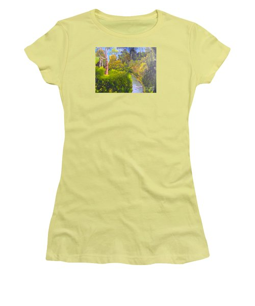 Creek In The Bush Women's T-Shirt (Athletic Fit)