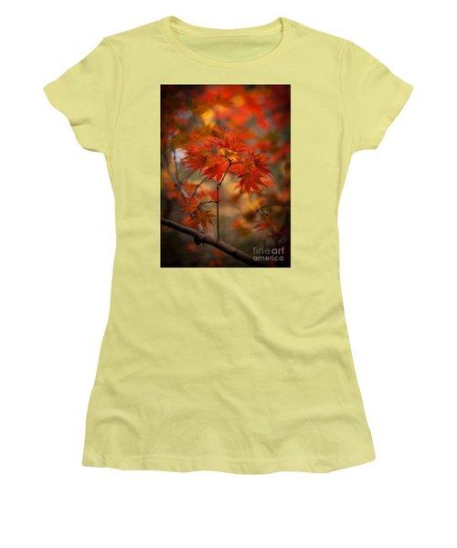 Crown Of Fire Women's T-Shirt (Junior Cut) by Mike Reid