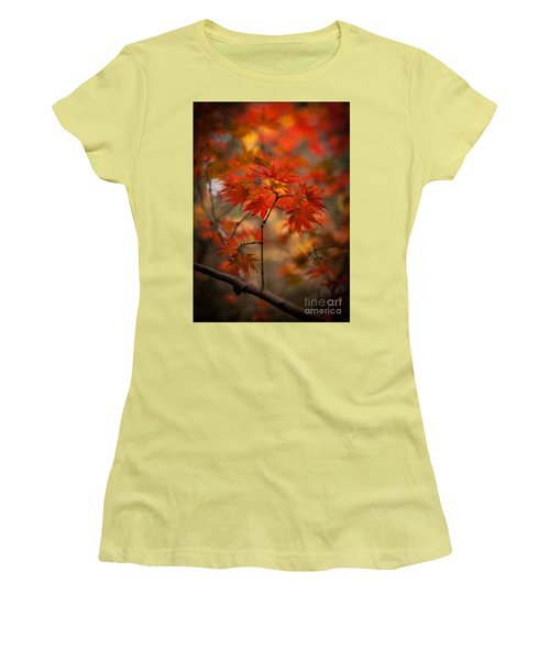 Crown Of Fire Women's T-Shirt (Athletic Fit)