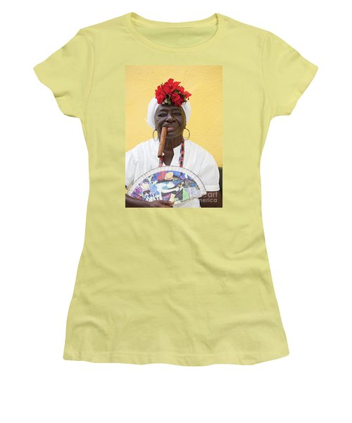 Cuban Lady Two Women's T-Shirt (Athletic Fit)