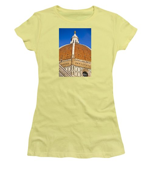 Cupola On Florence Duomo Women's T-Shirt (Athletic Fit)