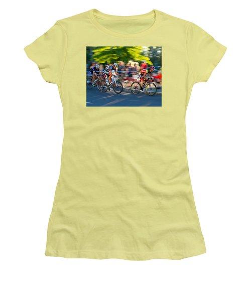 Cycling Pursuit Women's T-Shirt (Athletic Fit)