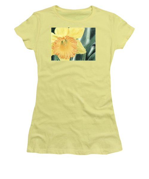 Daffodil Dayz Women's T-Shirt (Athletic Fit)