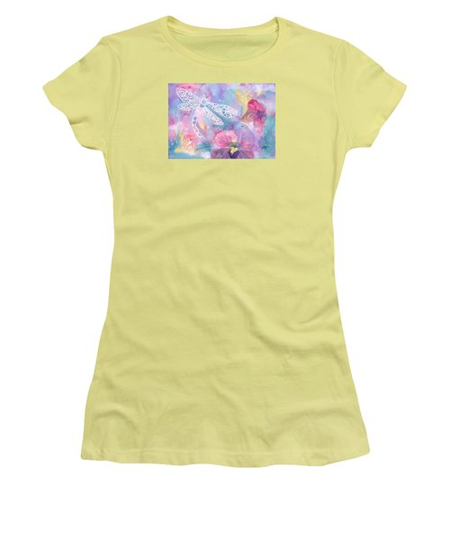 Dance Of The Dragonfly Women's T-Shirt (Athletic Fit)