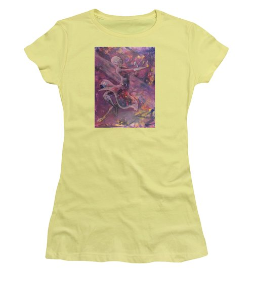 Dancer Women's T-Shirt (Junior Cut) by Jack Malloch