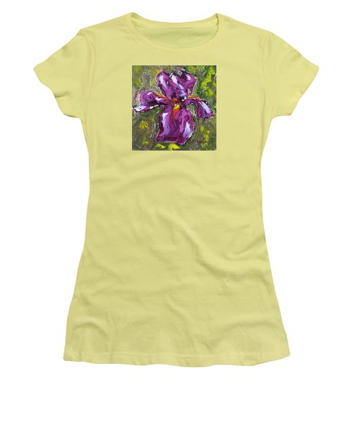 Dancing Iris Women's T-Shirt (Athletic Fit)