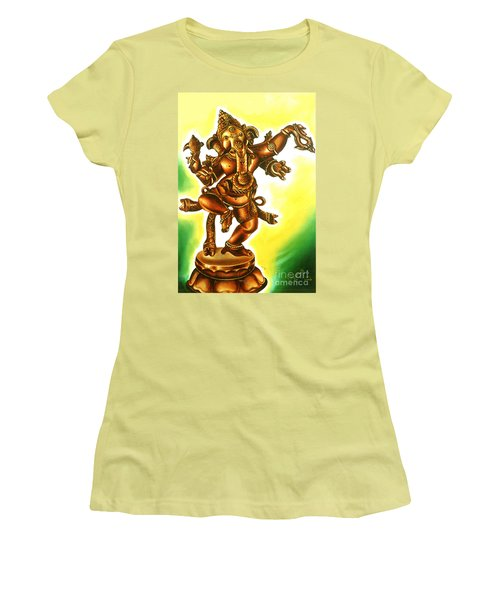 Dancing Vinayaga Women's T-Shirt (Athletic Fit)