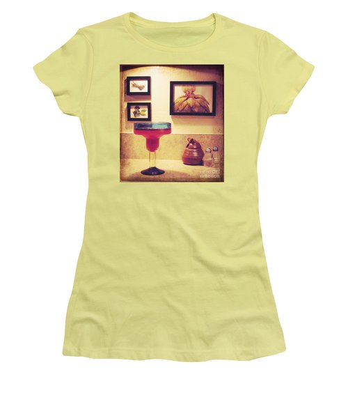 Women's T-Shirt (Junior Cut) featuring the photograph Date With Self by Meghan at FireBonnet Art