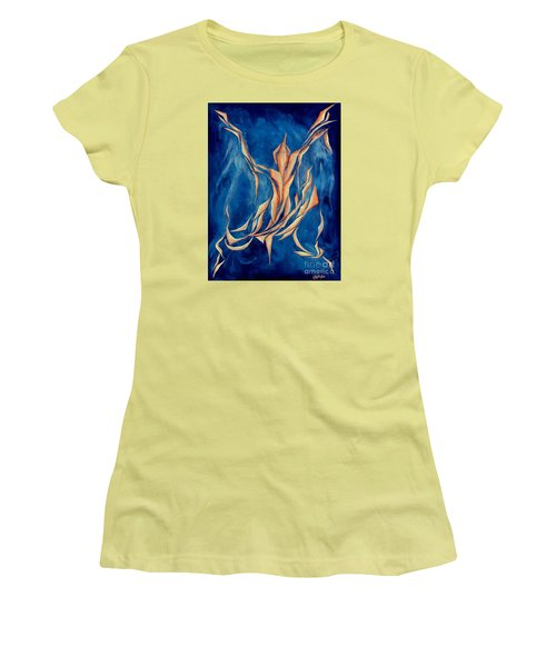 David's Angel Women's T-Shirt (Athletic Fit)
