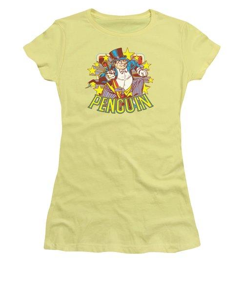 Dc - Penguin Stars Women's T-Shirt (Junior Cut) by Brand A