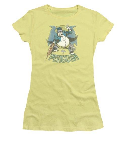 Dc - The Penguin Women's T-Shirt (Athletic Fit)