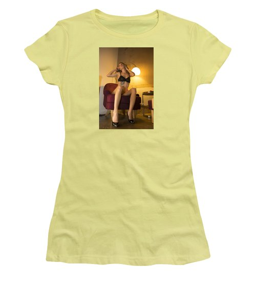 Women's T-Shirt (Junior Cut) featuring the photograph Deep Thoughts 0 by Mez