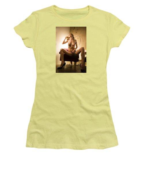 Deep Thoughts Women's T-Shirt (Junior Cut)