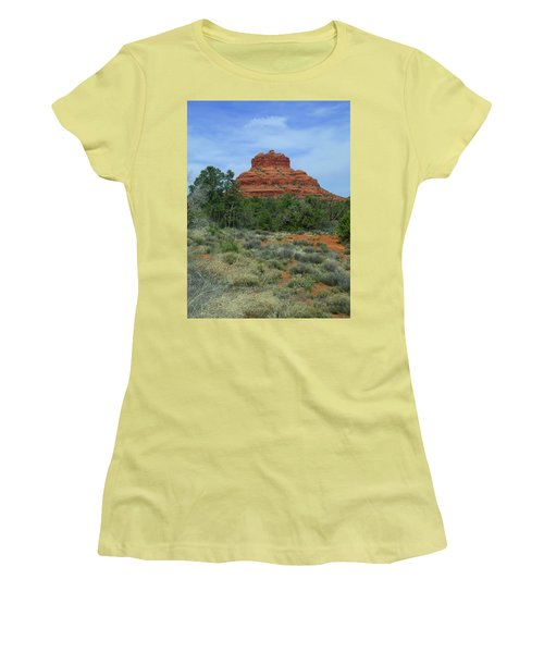 Desert Castle Women's T-Shirt (Athletic Fit)