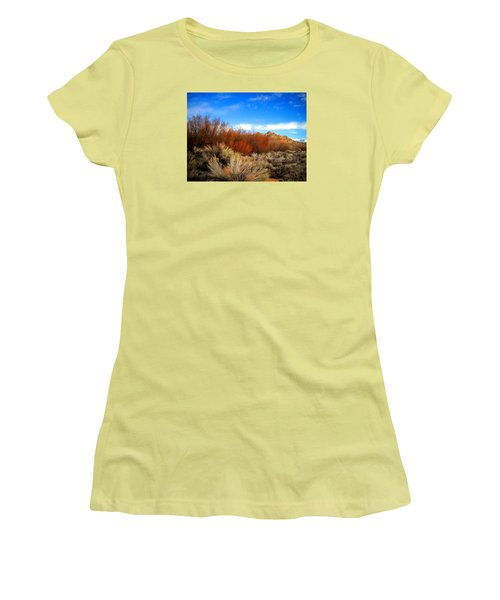 Desert Colors Women's T-Shirt (Athletic Fit)