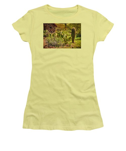 Women's T-Shirt (Junior Cut) featuring the photograph Desert Dream by Mark Myhaver