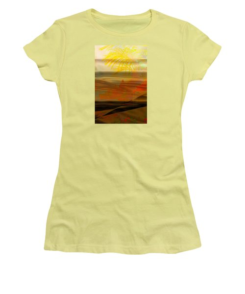 Desert Paradise Women's T-Shirt (Junior Cut) by Paula Ayers