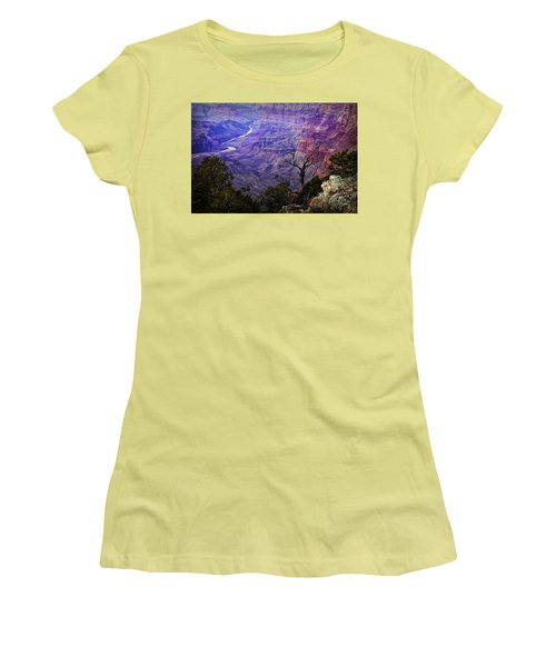 Desert View Sunset Women's T-Shirt (Athletic Fit)